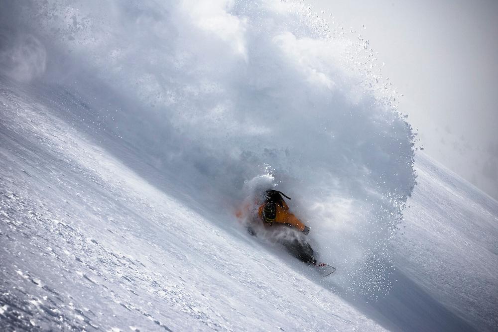 jonas Emery, Eskimo Freeride Snowcats, Macedonia.