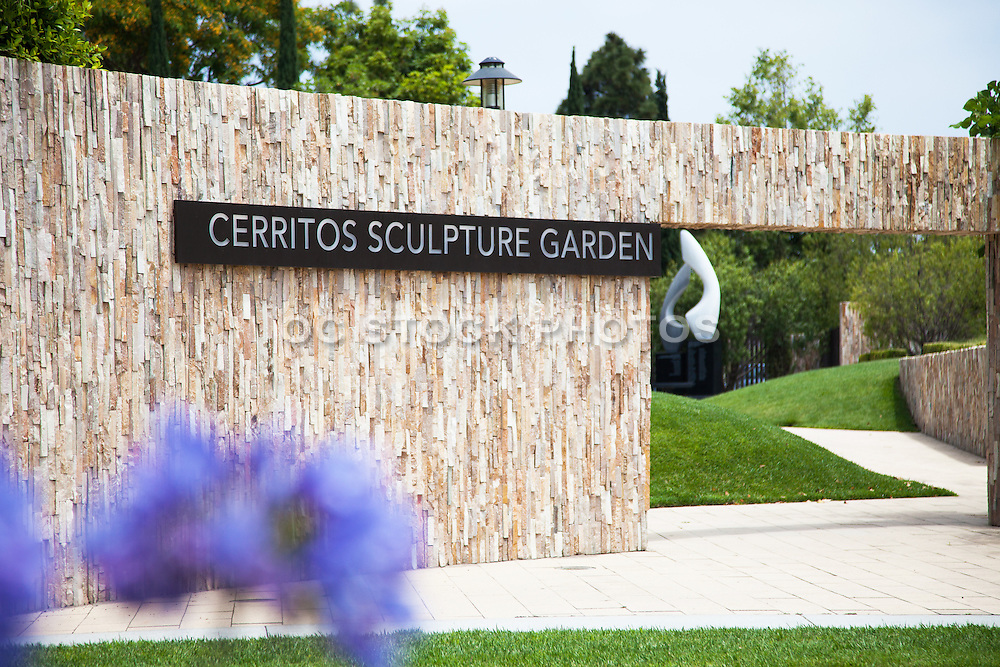 Entrance at Cerritos Sculpture Garden