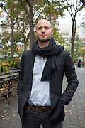 Omri Boehm NYC November 2016<br /> <br /> Photo &copy; Stefan Falke <br /> New York <br /> www.stefanfalke.com <br /> stefanfalke@mac.com <br /> 917-2149029