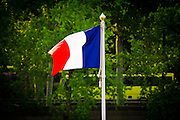 France flag, Paris, France