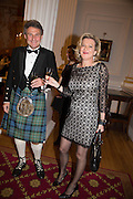 ALASTAIR BARRIE; KATE O'NEILL, The National Trust for Scotland Mansion House Dinner. Mansion House, London. 16 October 2013