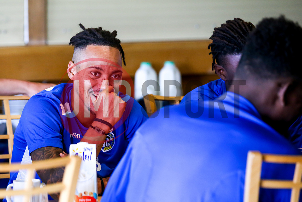 Kyle Bennett of Bristol Rovers during the first day of preseason training ahead of the 2019/20 Sky Bet League One Season - Mandatory by-line: Robbie Stephenson/JMP - 27/06/2019 - FOOTBALL - The Lawns - Bristol, England - Bristol Rovers Return for Preseason Training