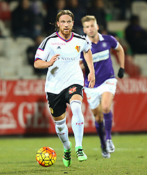 29.01.2016, Generali Arena, Wien, AUT, Testspiel, FK Austria Wien vs FC Basel, im Bild Michael Lang (FC Basel) // during a preperation Football Match between FK Austria Wien vs FC Basel at the Generali Arena in Vienna, Austria on 2016/01/29. EXPA Pictures © 2016, PhotoCredit: EXPA/ Thomas Haumer