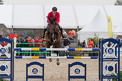 Wolf Cedric, GER, Dsp Chicito<br /> European Jumping Championship Children<br /> Zuidwolde 2019<br /> © Hippo Foto - Dirk Caremans<br /> Wolf Cedric, GER, Dsp Chicito