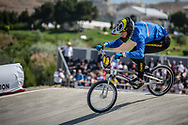 15 Boys #7 (RADAELLI Marco) ITA at the 2018 UCI BMX World Championships in Baku, Azerbaijan.