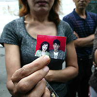 URUMQI, JULY-15 : Patiguli Palachi, says she has gone to the police station every day since her husband was arrested.