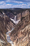 Yellowstone National Park lower falls