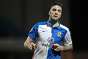 Shane Duffy (Blackburn Rovers) during the Sky Bet Championship match between Blackburn Rovers and Rotherham United at Ewood Park, Blackburn, England on 11 December 2015. Photo by Mark P Doherty.