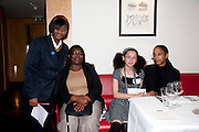 MUMS: JOAN FOSTER; JOICELYN JAMES, Literary charity First Story fundraising dinner. Cafe Anglais. London. 10 May 2010. *** Local Caption *** -DO NOT ARCHIVE-© Copyright Photograph by Dafydd Jones. 248 Clapham Rd. London SW9 0PZ. Tel 0207 820 0771. www.dafjones.com.<br /> MUMS: JOAN FOSTER; JOICELYN JAMES, Literary charity First Story fundraising dinner. Cafe Anglais. London. 10 May 2010.