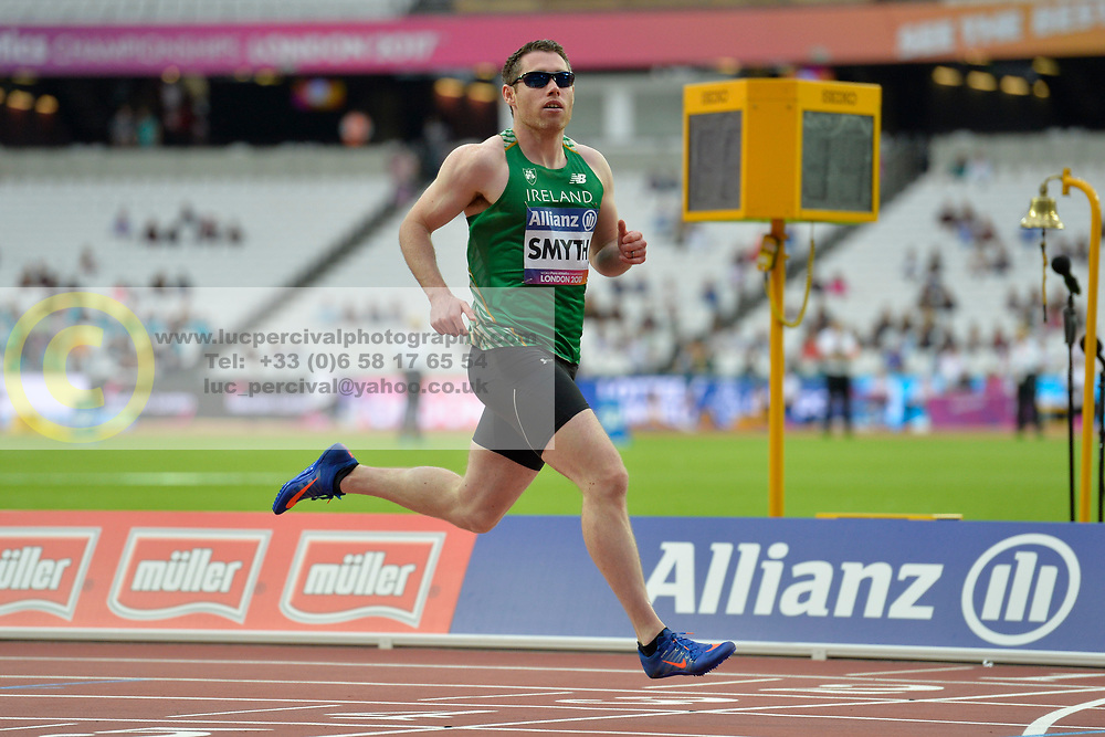 18/07/2017 : Jason Smyth (IRL), T13, Men's 200m, at the 2017 World Para Athletics Championships, Olympic Stadium, London, United Kingdom