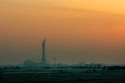 QATAR DOHA 11FEB07 - Stadium in the skyline of Doha, Qatar...jre/Photo by Jiri Rezac..© Jiri Rezac 2007