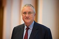 DEU, Deutschland, Germany, Berlin, 03.01.2017: Portrait FORSA-Geschäftsführer Manfred Güllner (SPD).
