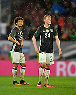 Leroy Sane and Julian Brandt of Germany during the International Friendly match at WWK Arena, Augsburg<br /> Picture by EXPA Pictures/Focus Images Ltd 07814482222<br /> 27/05/2016<br /> ***UK &amp; IRELAND ONLY***<br /> EXPA-EIB-160529-0163.jpg
