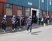 Dundee make the short walk to Tannadice - Dundee United v Dundee at Tannadice Park in the SPFL Premiership<br /> <br />  - &copy; David Young - www.davidyoungphoto.co.uk - email: davidyoungphoto@gmail.com