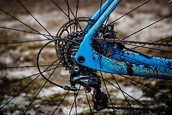 Shimano Ultegra, NK Veldrijden / Dutch Championship Cyclocross at Sint Michielsgestel, Noord-Brabant, The Netherlands, 8 January 2017. Photo by Pim Nijland / PelotonPhotos.com | All photos usage must carry mandatory copyright credit (Peloton Photos | Pim Nijland)