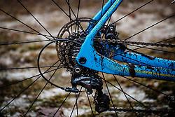 Shimano Ultegra, NK Veldrijden / Dutch Championship Cyclocross at Sint Michielsgestel, Noord-Brabant, The Netherlands, 8 January 2017. Photo by Pim Nijland / PelotonPhotos.com | All photos usage must carry mandatory copyright credit (Peloton Photos | Pim Nijland)