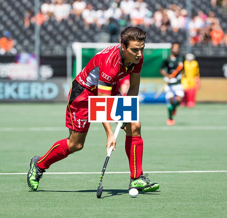 BREDA - Thomas Briels (Bel)  .   Belgie-Pakistan om de 5e plaats . Belgie wint shoot outs. COPYRIGHT  KOEN SUYK