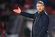 Doncaster manager Grant McCann during the EFL Sky Bet League 1 match between Doncaster Rovers and AFC Wimbledon at the Keepmoat Stadium, Doncaster, England on 17 November 2018.