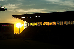 The sun sets over the Bet365 stadium as Stoke City take on Wolverhampton Wanderers - Mandatory by-line: Robbie Stephenson/JMP - 25/07/2018 - FOOTBALL - Bet365 Stadium - Stoke-on-Trent, England - Stoke City v Wolverhampton Wanderers - Pre-season friendly