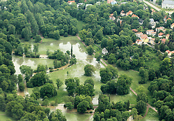 59754219  <br /> Floods in Thuringia the Ilmpark through to the River Ilm, Germany, June 3, 2013 .UK ONLY, June 3, 2013 .UK ONLY