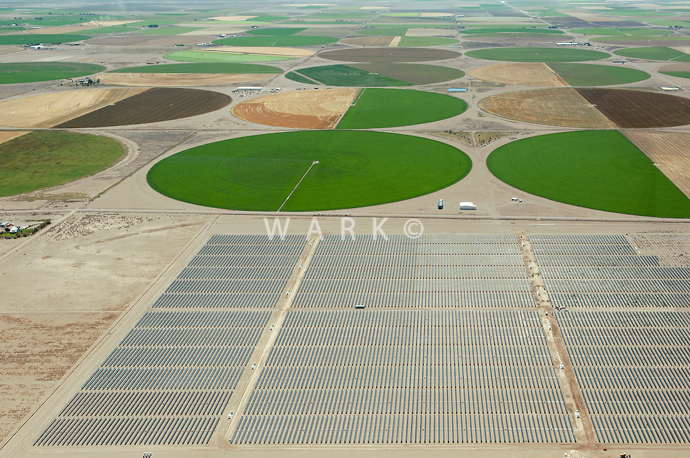 San Luis Valley crop circles.