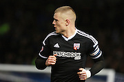 Brentford defender Jake Bidwell during the Sky Bet Championship match between Brighton and Hove Albion and Brentford at the American Express Community Stadium, Brighton and Hove, England on 5 February 2016. Photo by Bennett Dean.
