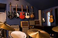 sound room of recording studio