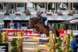 Brocks Karl jun. (GER), Caramba 70<br /> Balve - Longines Optimum 2019<br /> Deutsche Meisterschaft Springen Herren<br /> 1. Wertungsprüfung mit 2 Umläufen<br /> 14. Juni 2019<br /> © www.sportfotos-lafrentz.de/Stefan Lafrentz