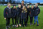 KLB with Henry during the EFL Sky Bet League 2 match between Forest Green Rovers and Scunthorpe United at the New Lawn, Forest Green, United Kingdom on 7 December 2019.