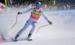 14.03.2019, Soldeu, AND, FIS Weltcup Ski Alpin, SuperG, Herren, im Bild Dominic Paris (ITA, erster Platz Super G Weltcup, zweiter Platz Abfahrts Welt Cup) // first place Super G World Cup and second place Downhill World Cup Dominic Paris of Italy during the men's Super-G of FIS Ski Alpine World Cup finals. Soldeu, Andorra on 2019/03/14. EXPA Pictures © 2019, PhotoCredit: EXPA/ Erich Spiess