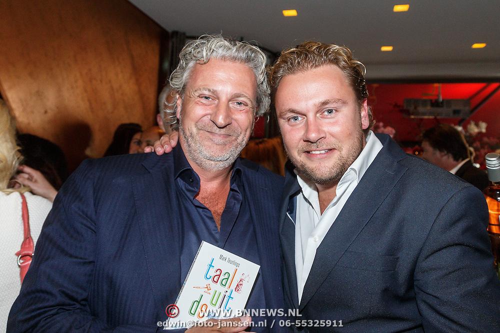 NLD/Amsterdam/20150604 - Boekpresentatie advocaat Mark Teurlings, met Wesley Bronkhorst