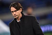 Filippo Inzaghi Milan <br /> Roma 24-01-2015 Stadio Olimpico, Football Calcio Serie A Lazio - Milan. Foto Andrea Staccioli / Insidefoto