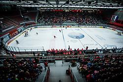 Arena Podmezakla during Hockey match between HDD Jesenice and HK SZ Olimpija in Alps Hockey League, on December 30, 2017 in Podmezakla, Jesenice, Slovenia. Photo by Ziga Zupan / Sportida