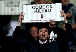 Fulham fans - Mandatory by-line: Robbie Stephenson/JMP - 16/05/2017 - FOOTBALL - Madejski Stadium - Reading, England - Reading v Fulham - Sky Bet Championship Play-off Semi-Final 2nd Leg