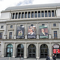 Teatro Real de Madrid. The Theatre Royal, opera house in Madrid. Spain.