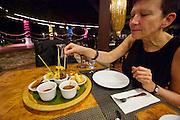 Malaysia, Langkawi. Meritus Pelangi Beach Resort & Spa. Spice Market Restaurant.