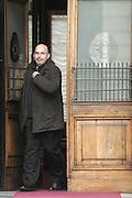 2013/03/28 Roma, parlamentari in piazza Montecitorio. Nella foto Vito Crimi.<br /> Rome, politicians in Montecitorio Square. In the picture Vito Crimi - &copy; PIERPAOLO SCAVUZZO