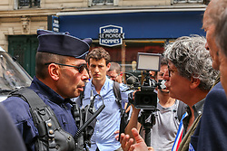 Demonstration at the initiative of 65 associations and organizations, including insubordinate France and the CGT Maree Populaire in Paris, France on May 26, 2018. Photo by Nicolas Joubert /ABACAPRESS.COM