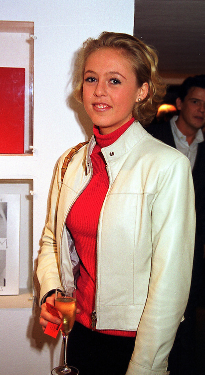 LADY ALEXANDRA SPENCER-CHURCHILL at a party in London on 23rd November 1999.MZG 55