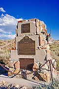 Bodie state and national historic plaques, Bodie State Historic Park (National Historic Landmark), California
