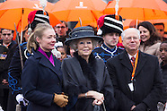 Prinses Beatrix Nederlanden is woensdagochtend 8 februari in Madurodam aanwezig bij de onthulling