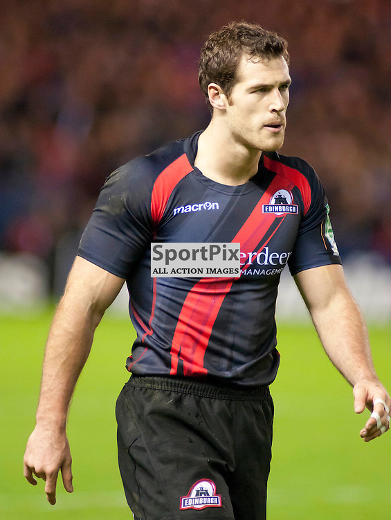Edinburgh's Tim Visser, Edinburgh Rugby v Racing Metro