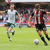 Sheffield United VS Barnsley FC EFL CHAMPIONSHIP <br /> Saturday 19th August 2017, Bramall Lane Sheffield<br /> <br /> <br /> Picture - Alex Roebuck / www.alexroebuck.co.uk