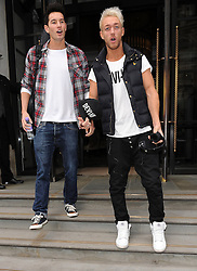 X Factor contestants from Times Red leaving the Corinthian Hotel in London. UK. 02/10/2012<br />BYLINE MUST READ : GOTCHAIMAGES.COM<br /><br />Copyright by © Gotcha Images Ltd. All rights reserved.<br />Usage of this image is conditional upon the acceptance <br />of Gotcha Images Ltd, terms and conditions available at<br />www.gotchaimages.com