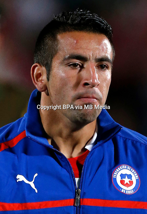 Football Fifa Brazil 2014 World Cup / <br /> Chile National Team - <br /> Mauricio Isla  of Chile
