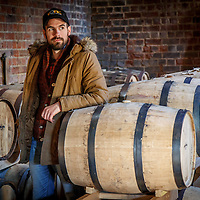 Distiller, general manager, and brand ambassador Robbie Gilligan in the bond store at Redlands Estate Distillery in Plenty, Tasmania, August 25, 2015. Gary He/DRAMBOX MEDIA LIBRARY