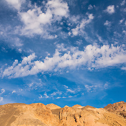 Amargosa Mountains along Artists Drive in Death Valley National Park, CA.
