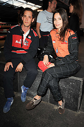 RYAN PRINCE and ASTRID MUNOZ at an evening of go-karting hosted by Tag Heuer at Docklands Raceway, 3 Herringham Road, London SE7 on 16th June 2010.