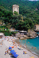 2000 --- On the Beach at San Fruttuoso --- Image by © Owen Franken/CORBIS
