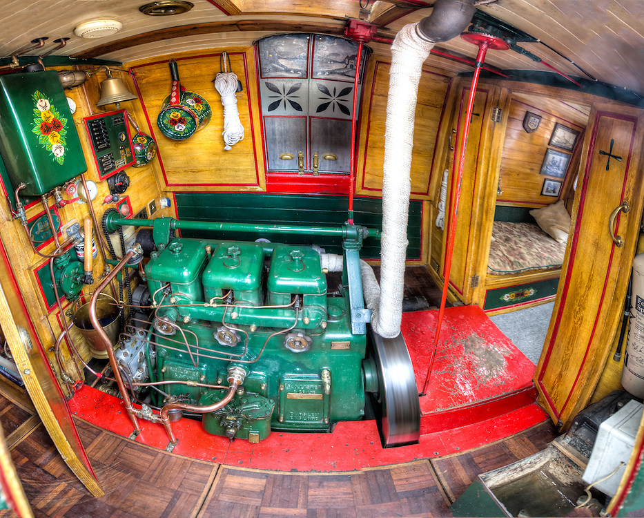 Engine room of Th'Ilson Giant